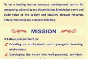 Vision-Mission IET